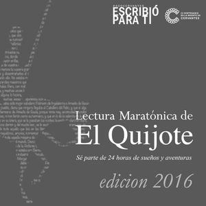 Lectura maratónica del Quijote 2016: audio 12