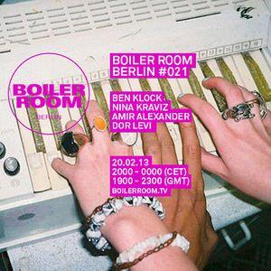 Nina Kraviz - Live @ Boiler Room (Berlin Germany) - 20-02-2013