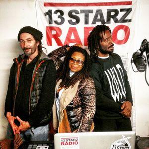 Selekta G live show on 13 Starz Radio 19.01.17 special guest Ishabel & Wild Life