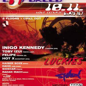 Daho - Citadela 9, Brno, Czech Republic (18-11-2000)