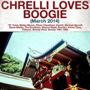 Chrelli <3 Boogie - March 2014