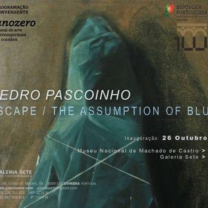 Entrevista   Pedro Pascoinho - Escape/The Assumption of Blue [25/10]