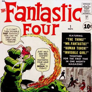 2 - Fantastic Four #1 - The First Appearance Of The Fantastic Four
