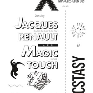Jacques Renault LIVE @ ECSTASY