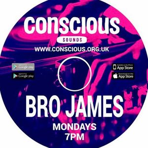Brother James - Monday Mix-down show - www.conscious.org.uk - 13.02.2017