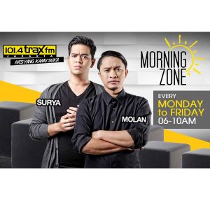 Surya Molan MorningZone TraxFMJKT 12 Juli 2016