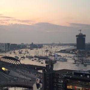SAIL 2015 Amsterdam at Vodafone top roof, sounds by Japnl & Beat-Fabriek