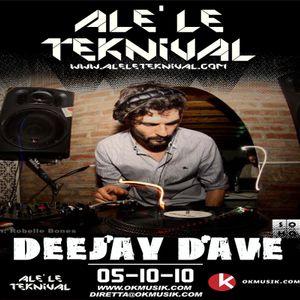 Alè Le Teknival 05.10.2010 - DEEJAY DAVE