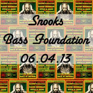 Snooks @ BassFoundation 06.04.2013