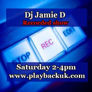 Jamie D live on Playbackuk
