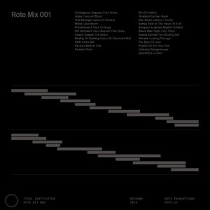 Rote Mix 001: Total Institution