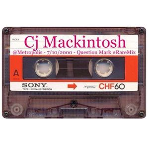 Cj Mackintosh @ Metropolis - 07-10-2000 Question Mark - Napoli #RareMix