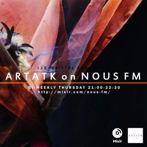 NOUS FM ARTATK ON NOUS FM - 7月30日放送分