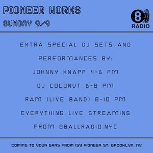 Johnny Knapp - Pioneer Works Second Sundays Residency 9.9.18