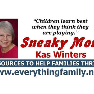 Winter Fun Indoors and Outside on The Sneaky Mom Show with Kas Winters