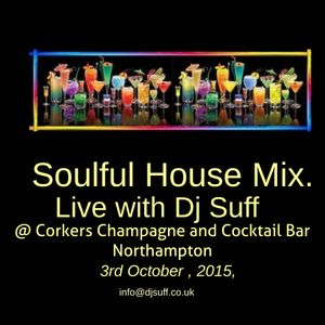 Live @ Corkers Champagne and Cocktail Bar Northampton 3rd October 2015