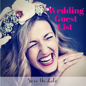 009: Wedding Guest List - Who's in and Who's out?