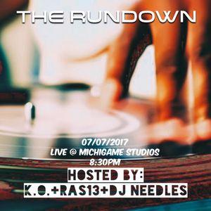 The RunDown Show Mix 7-7-17