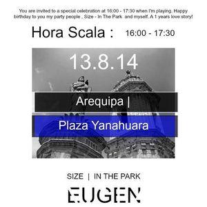 SIZE IN THE PARK | Plaza Yanahuara | Arequipa x BRA|KA | EUGEN LIVE° 13.8.14