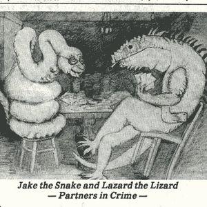 Giant Lizards shall soon rule the Earth - February 1st