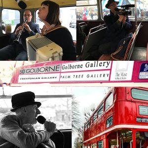 Portobello Radio Saturday Sessions @onthebus69 The #ArtBus March 18.
