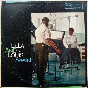 Ella And Louis – Ella And Louis Again Volume 2  /   Verve Records – MG V-4018 Mono,  1958