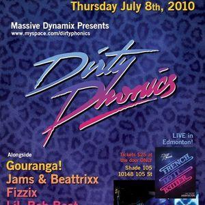 Fizzix - Power House - DirtyPhonics Live (Edmonton 2010)
