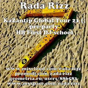 Rada Rizz - Kazantip Global Tour 2013 pre-party