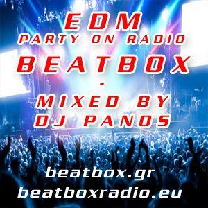 EDM PARTY ON RADIO BEATBOX - MIXED BY DJ PANOS
