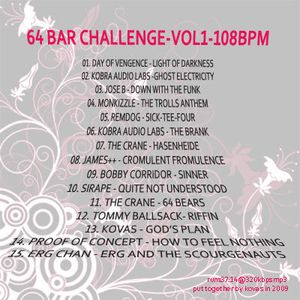 64BarChallenge>vol1<108bpm-mixed-by-K0va5