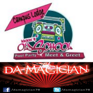 LIVE @ Campus Lodge Kickin It Old Skool Pool Party 2012