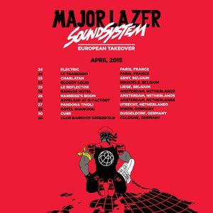 Major Lazer European Tour Mix by DJ AT-LAW | Mixcloud