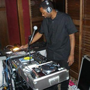 DJ Merrick in the Island sounds of the Reggae set KJMM