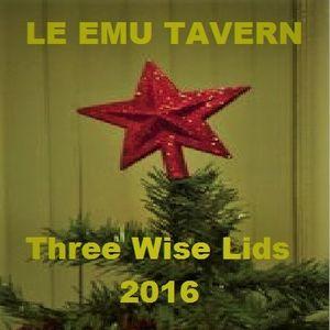 Three Wise Lids 2016: Le Emu Tavern's Christmas Podding