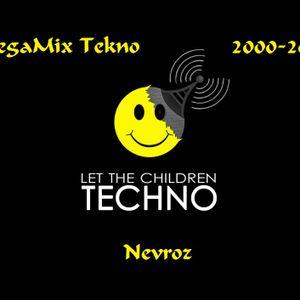 MEGAMIX TEKNO [2000-2002] (La Bush, Capt'ain,LaGoa,ect...) - Nevroz