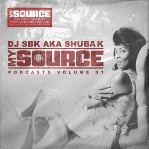 DJ SHUBA K - MY SOURCE VOL1 - BACK TO 60's