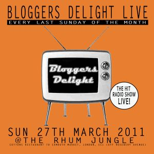 BLOGGERS DELIGHT LIVE 27TH MARCH PART 2