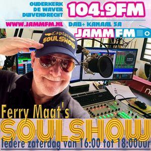 Ferry Maat's Soulshow Live vanaf Bonaire op JAMM FM 3 juli 2021
