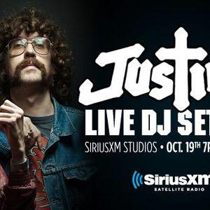 Justice (Live DJ Set) @ Sirius XM Studios (2012.10.19 - New York City)