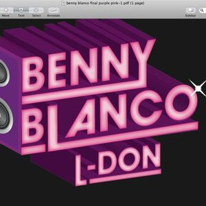 Benny Blanco AKA B.B. Real - music to stride to (deep disco mix 6)