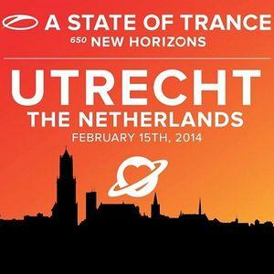 Ben Gold - Live @ A State of Trance 650 (Utrecht, Netherlands) - 15.02.2014