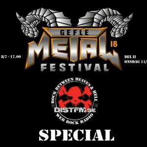 The Aftermath från Gefle Metal Festival 2018 med intervjuver med Dråp, Skulldrain Och Chugger