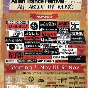 Ahmed Romel - Asian Trance Festival™ , All About The Music . 2nd Edition 2014-NOV-07