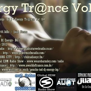 Pencho Tod ( DJ Energy- BG ) - Energy Trance Vol 184