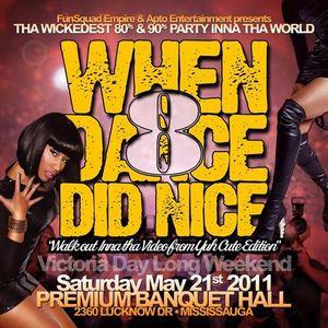 When Dance Did Nice 8 Promo CD