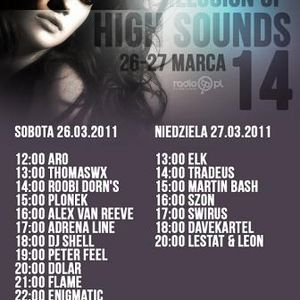 Adrena Line @ Illusion Of High Sounds 014 On Radio TP (26th March 2011)