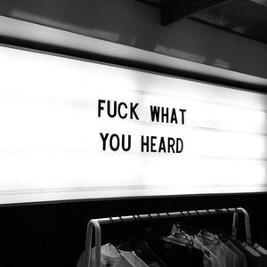 F What You Heard #01 By Putera