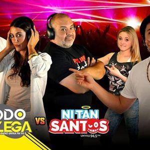 Presentación de Ni Tan Santos en Todo Llega - Radio Unyka 94.5 FM