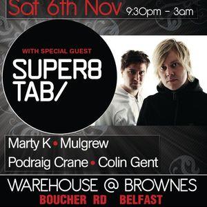 Mulgrew @ The Warehouse, Belfast [06-11-2010]