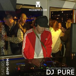 23/12/2017 -  Pure W/ MC Lippy & Eucalypta LV (D&B Marathon) - Mode FM
